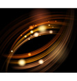 abstract energy waves vector image