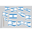 flag of Israel vector image