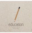 Vintage pencil icon design element vector image