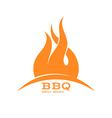 BBQ Grill menu vector image