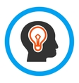 Idea Rounded Icon vector image