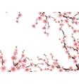Sakura blossoms background EPS 10 vector image