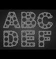 ABC 380 vector image