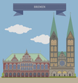 Bremen vector image vector image