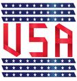 Stock Photo USA text ribbon style vector image