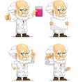 Scientist or Professor Customizable Mascot 3 vector image
