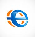 internet symbol explore logo vector image