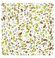 Color Leaf Pattern vector image