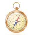 compass old retro vintage icon stock vector image