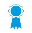medal award ribbon vector image