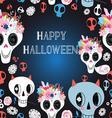 Happy Halloween beautiful vector image
