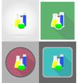 school education flat icons 07 vector image