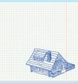 Cottage Handmade vector image