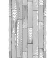 seamless linear wooden planks pattern vector image