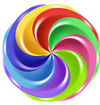 rainbow candy vector image vector image
