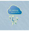 raining card vector image