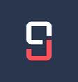Letter G number 9 mobile phone logo icon design vector image