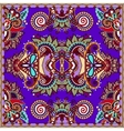 Traditional ornamental floral paisley violet vector image vector image