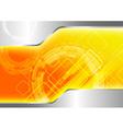 futuristic computer background vector image vector image