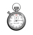 Classic stopwatch vector image