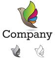 Bird Design Element vector image vector image