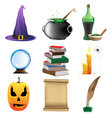 Magic objects vector image