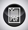 pdf file design vector image
