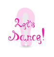 The Invitation to Dance vector image