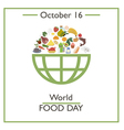 World Food Day vector image