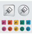 piston icon vector image