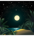 The Tropical Island vector image vector image
