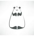 Panda vector image vector image