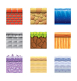 textures for games vector image