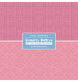 Pink backgrounds with seamless patterns vector image