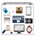 gadget and electronic pack vector image