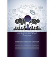 Teamwork Brainstorming communication concept art vector image