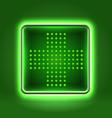 Medical healthcare application icon vector image
