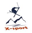 x-sport vector image