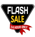 flash sale label or sticker vector image