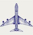 Jets symbols vector image vector image