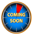 Coming soon icon vector image