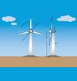 12wind power energy vector image