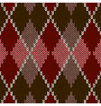 Seamless Red Pattern vector image vector image