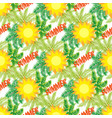 background of tropical beach holiday vector image