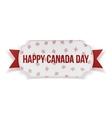 Happy Canada Day realistic Banner vector image