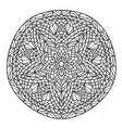 mandala decorative ornament element pattern vector image