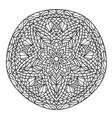 mandala decorative ornament element pattern vector image