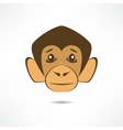 Attentive monkey vector image vector image