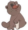 The toy bear cub cartoon vector image