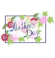 Happy Mothers Typographical Background With vector image